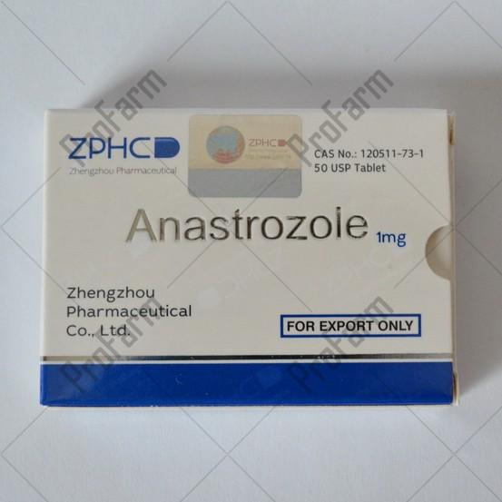 Anastrozole 1mg/tab - цена за 25 таблеток.