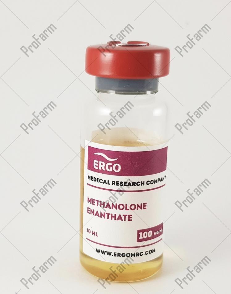 ERGO METHANOLONE ENANTHATE 100MG/ML - ЦЕНА ЗА 10МЛ
