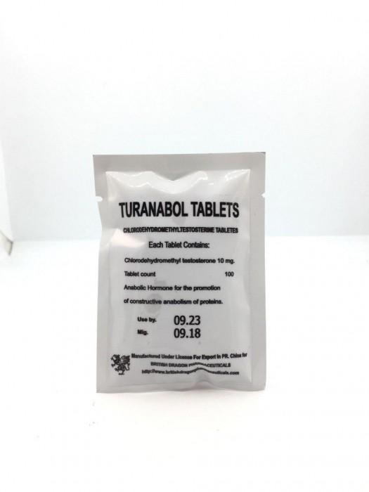 TURANABOL TABLETS 10MG/TAB - цена за 100 таб